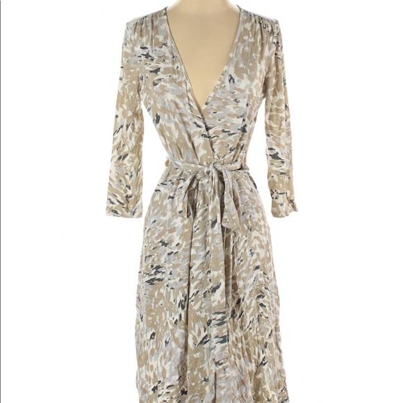 Banana Republic Midi Wrap Dress